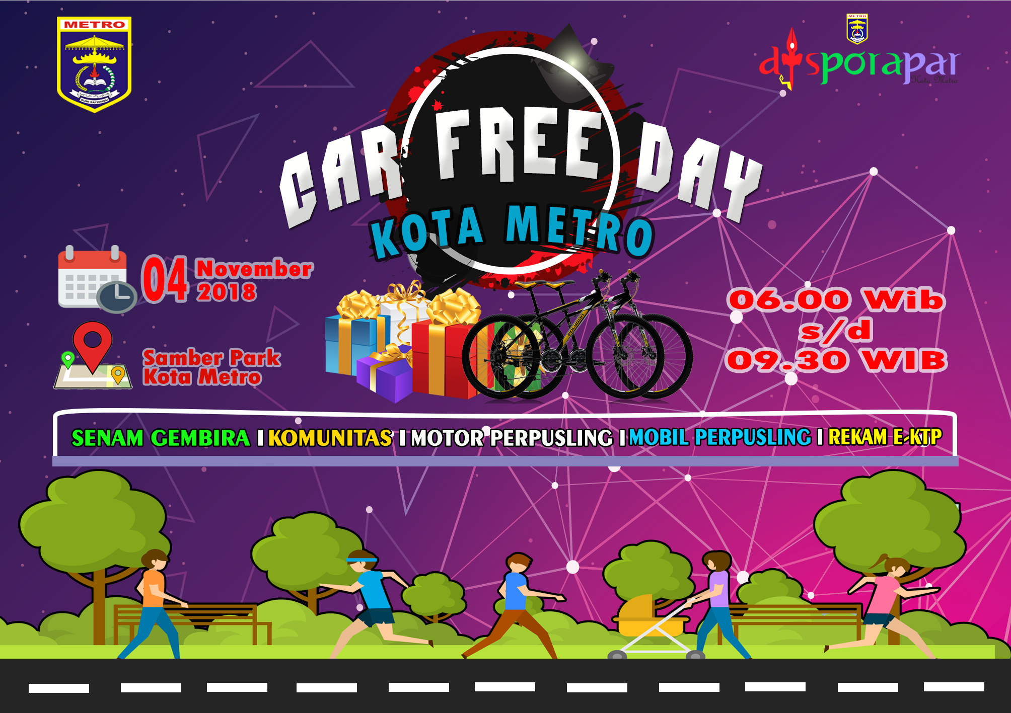 Car Free Day Minggu Pertama bulan November2018