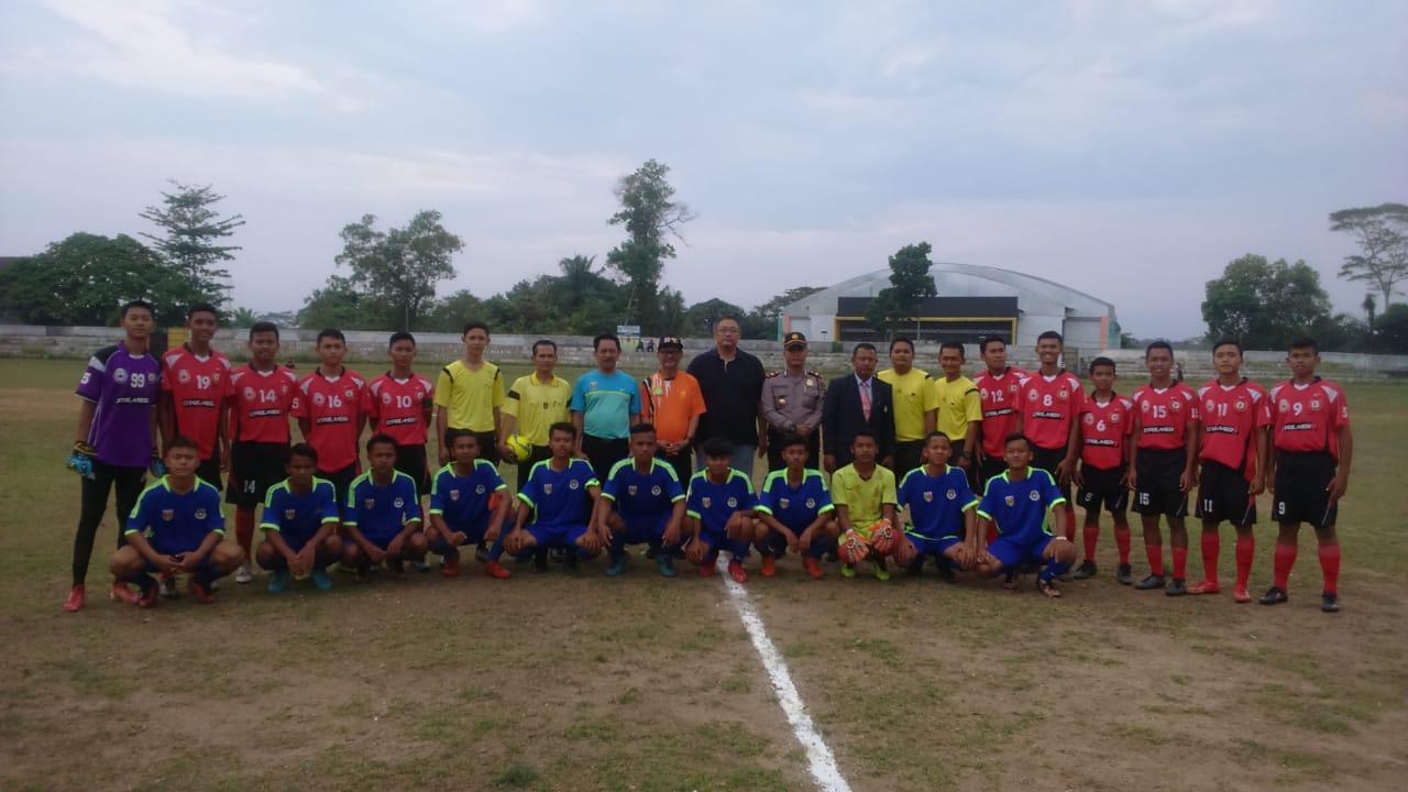 Pembukaan Kompetisi Piala Soeratin U 15 di Kota Metro Tahun 2019